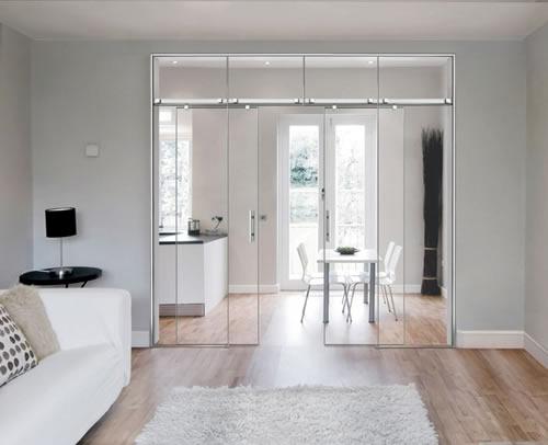 Puertas correderas for Correderas de cristal