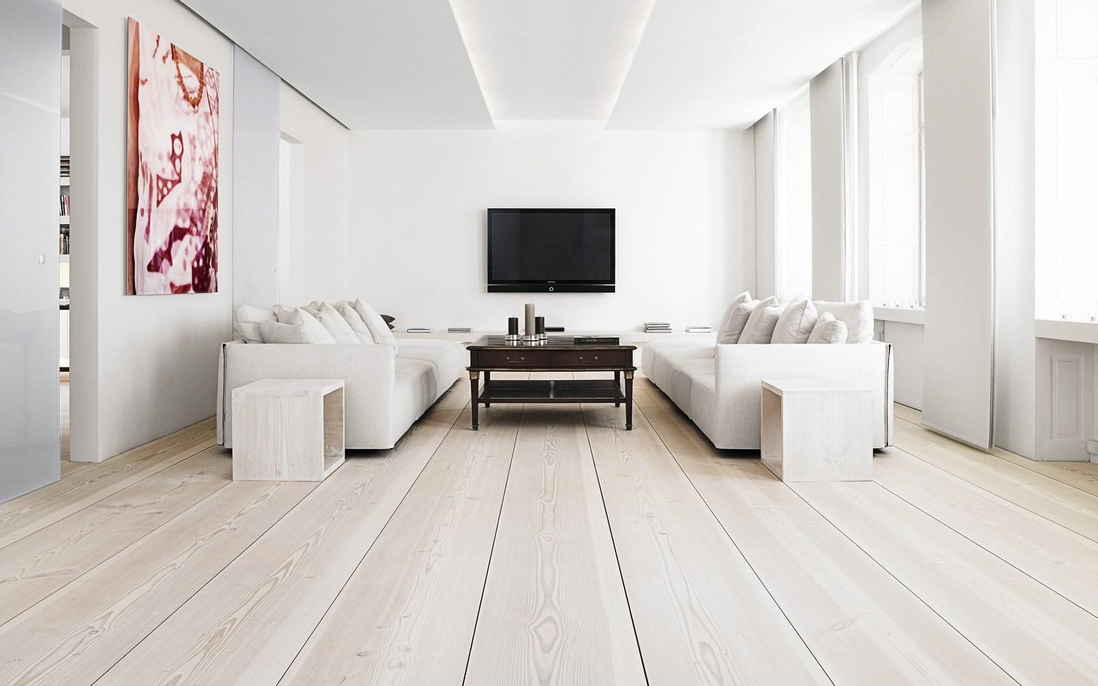Suelos - Casas de madera blancas ...